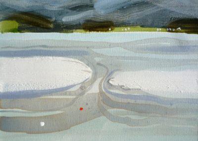 Across to Skye.  Oil on canvas.  20x25cms
